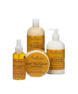 SheaMoisture Raw Shea & Argan Oil Collection