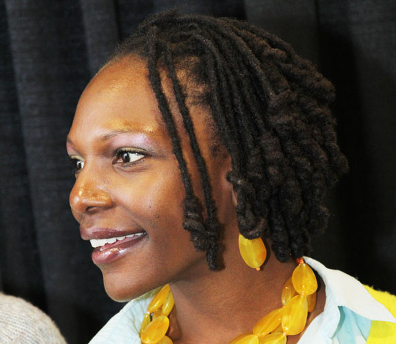 locs with coiled ends