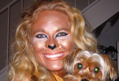 How to Make a Curly Lioness Costume
