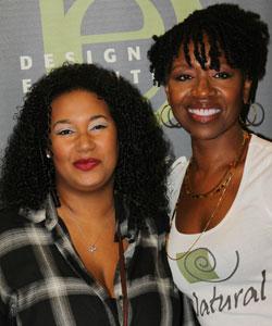 Quinn and Diane Bailey at the Fall 2012 Taliah Waajid World Natural Hair Show