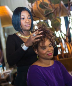 Motions Hairstyle tutorial by celebrity stylist Ursula Stephen