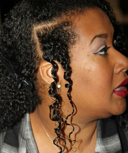 Profile Section of Quinn's Twists demo during Design Essentials Stylist Consultation