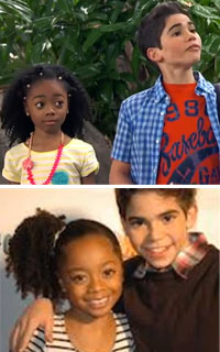 Disney Skai Jackson and Cameron Boyce