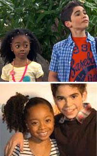 Disney Skai Jackson and Cameron Boyce