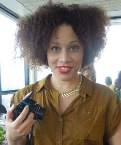 Natural hair Fro Fashion Week Fall 2012 Big Hair Trends