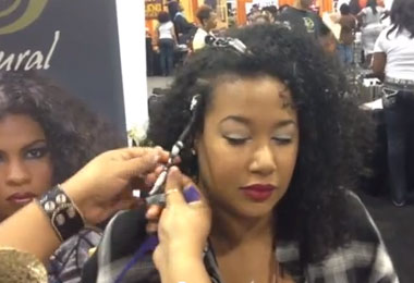 Hairstyle Tutorials From the 2012 World Natural Hair Show