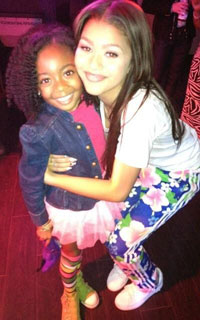 Disney Skai Jackson and Zendaya