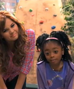 Debby Ryan and Skai Jackson