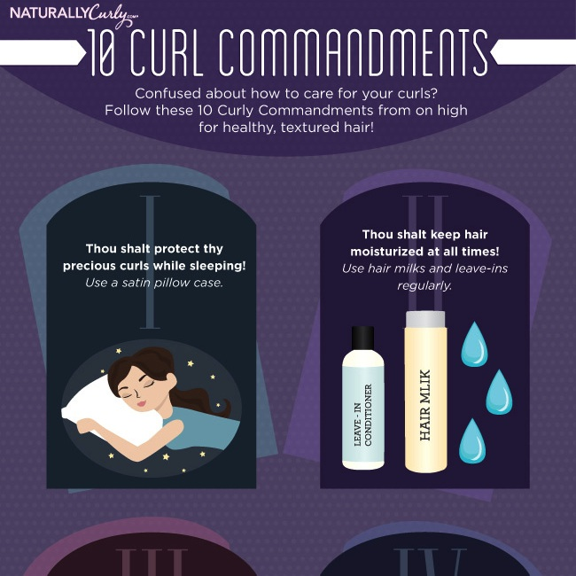 The Ten Curly Commandments