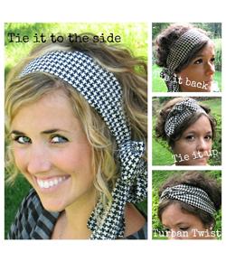 Head Wrap Collection Head Scarf Wide Turban Boho - Lynnie