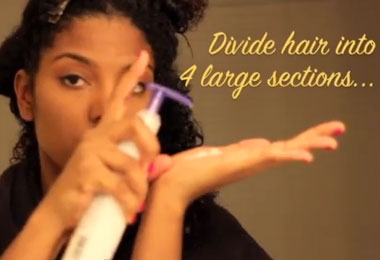 Get Great Wash and Go Curls with Paul Mitchell