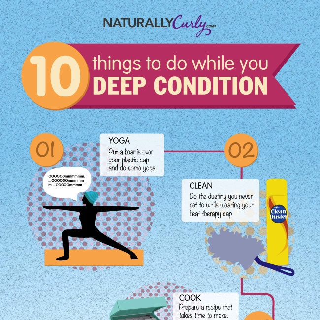 10 Things To Do While You Deep Condition