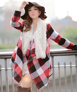 Korean Fashion multi colored coat