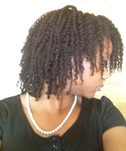 mini twist out