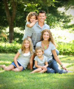 Kelly Foreman and family