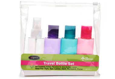How to Pack Hair Products for Air Travel