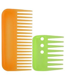 Wide-toothed combs