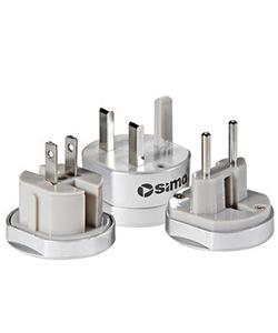 Sima International Travel Adapter Plug Set