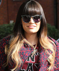 Jessie J Ombre hair, August 2012