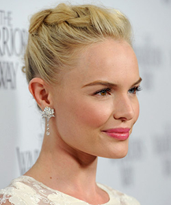 Kate Bosworth braided hair, Los Angeles November 2010