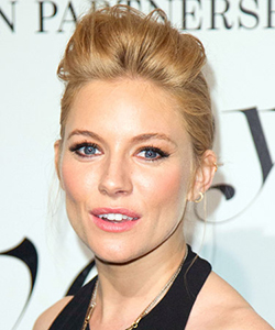 Sienna miller faux hawk hair, February 2012
