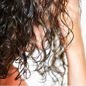 Tips of hair