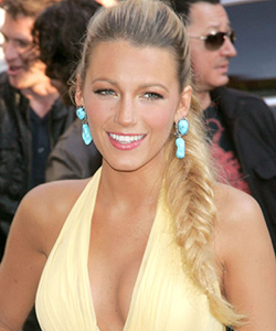 Blake Lively's fishtail braids