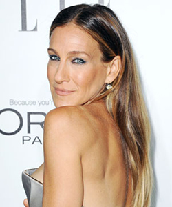 Sarah Jessica Parker with straight hair