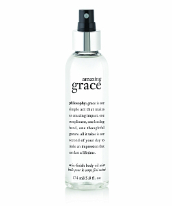 Philosophy's Amazing Grace Satin-Finish Body Oil Mist