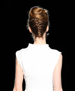 Badgley Mischka Runway Hair