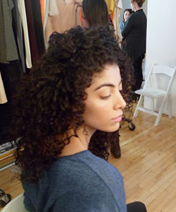 curly hair makeover with loreal paris evercurl