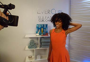 Behind the Scenes with L'Oreal Paris EverCurl
