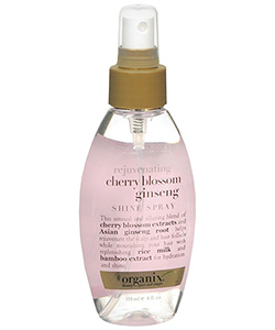 Organix Cherry Blossom Ginseng Shine Spray