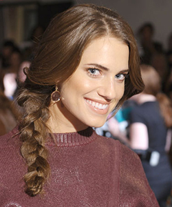 Allison Williams braid
