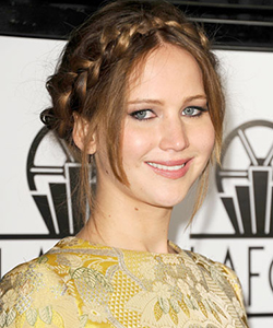 Jennifer Lawrence braid