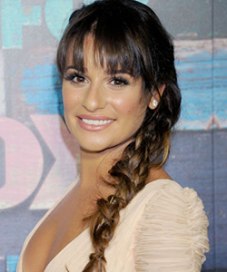 Lea Michele braid