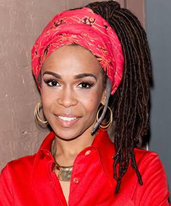 Michelle Williams natural hair