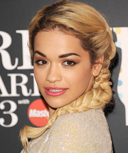 Rita Ora braid