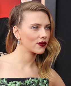 Scarlett Johansson braid