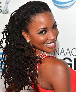 Shanola Hampton natural hair