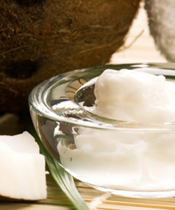 Cup of coconut oil