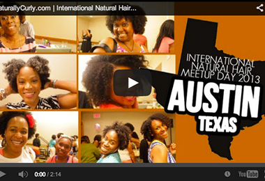 International Natural Hair Meetup Day | Video