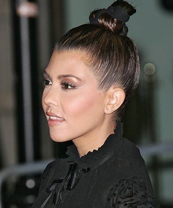 kourtney kardahian hairstyle 2013 5 no heat hairstyles for