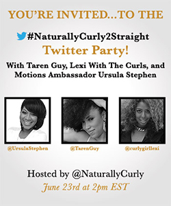 Twitter Party! You're Invited
