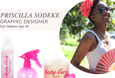Priscilla Sodeke | Meet the NaturallyCurly Team!
