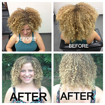 Brazilian Blowout Natural Curly Hair