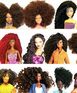 Natural Hair Dolls...Why'd It Take So Long?