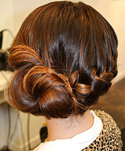 You'll Want to Pin This Braided Bun Tutorial
