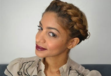 Swoon...Halo Braid Updo | Video