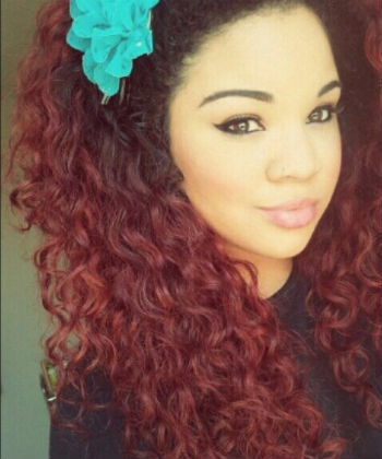 samantha gunter maroon hair